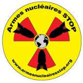 Armes nucléaires STOP logo