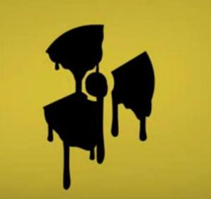 logo nucléaire coulant